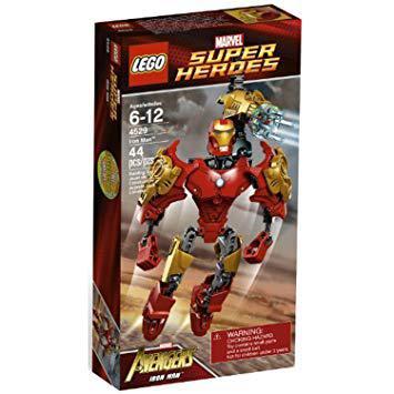jeux lego iron man