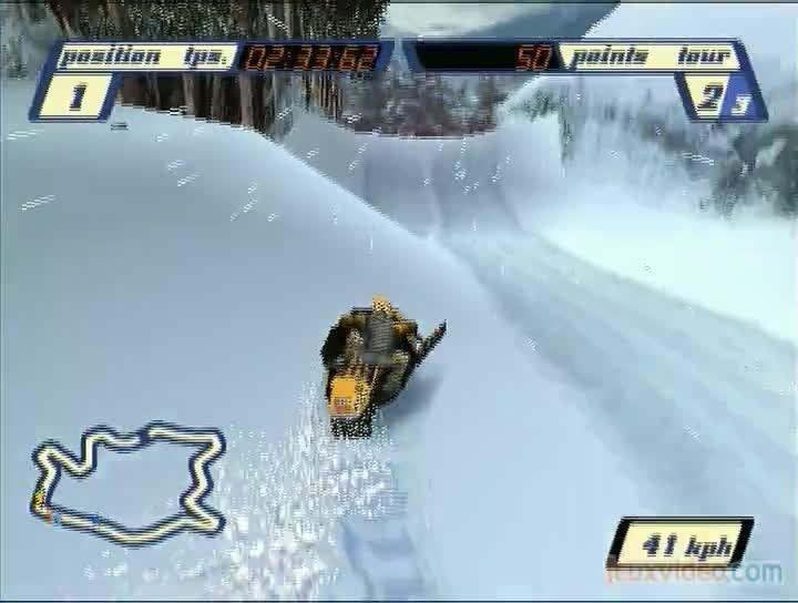 jeux moto de neige