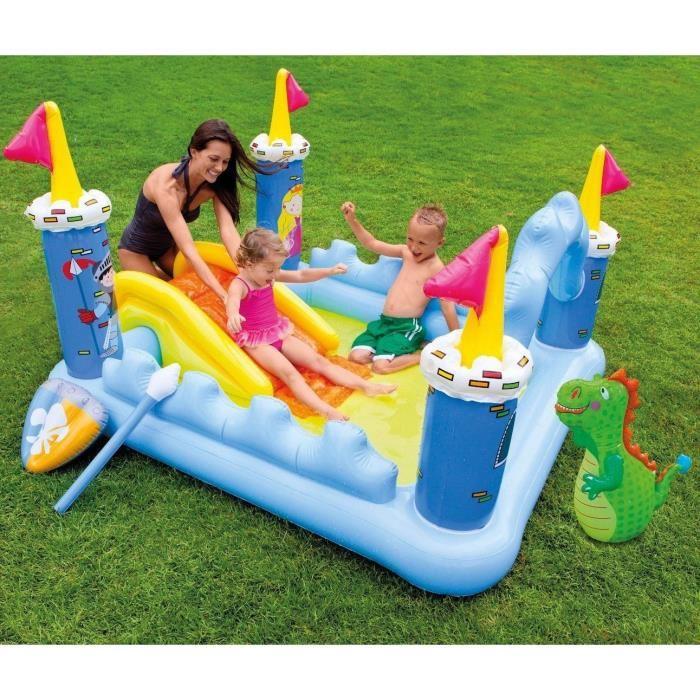 jeux piscine gonflable