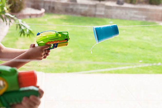 jeux pistolet a eau