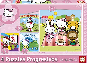 jeux puzzle hello kitty