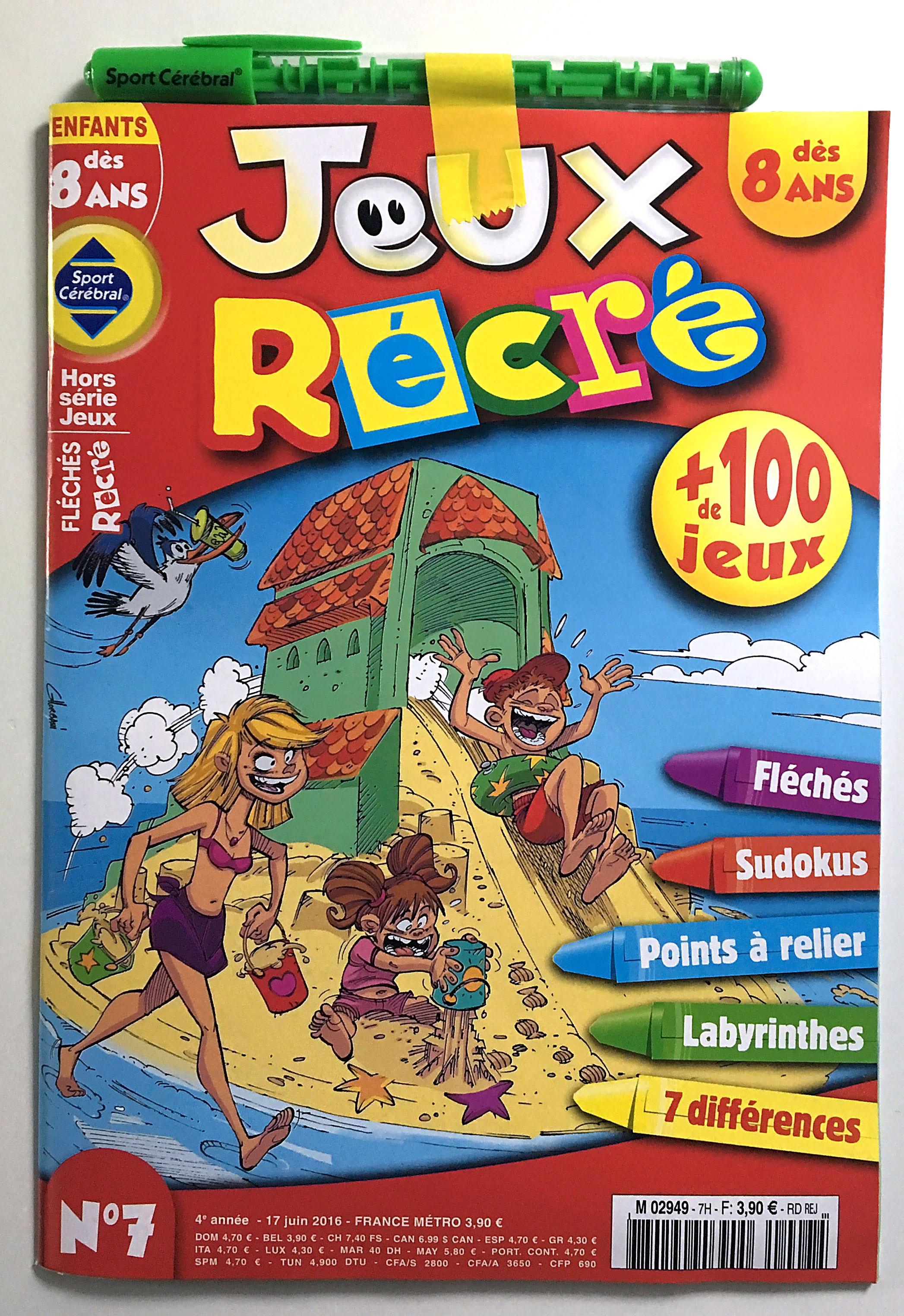 jeux recre