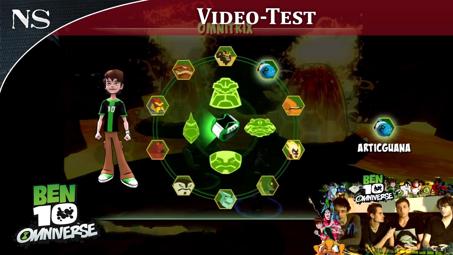 jeux video de ben 10