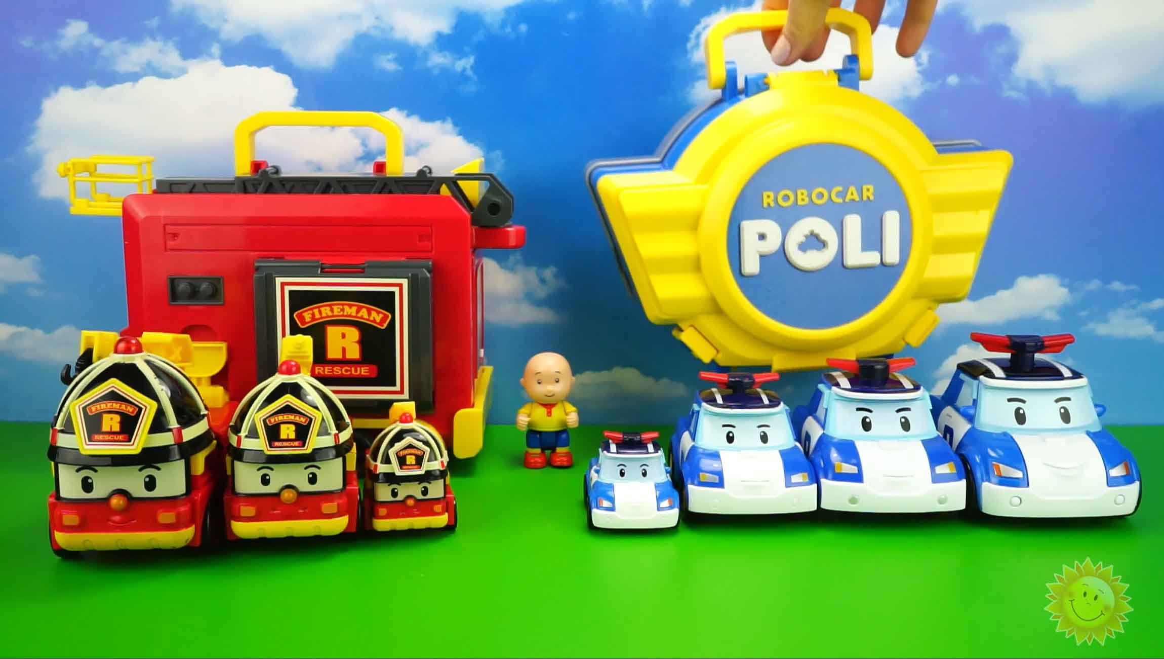 jeux video robocar poli