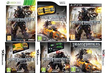 jeux video transformers 3