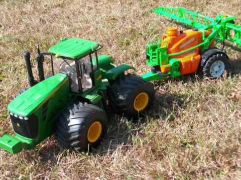 jouer au tracteur