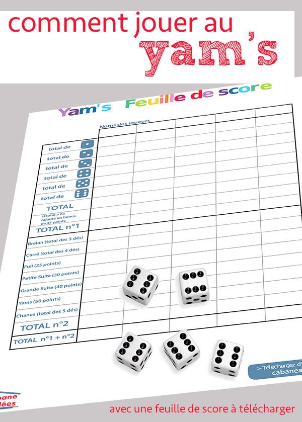 jouer au yams