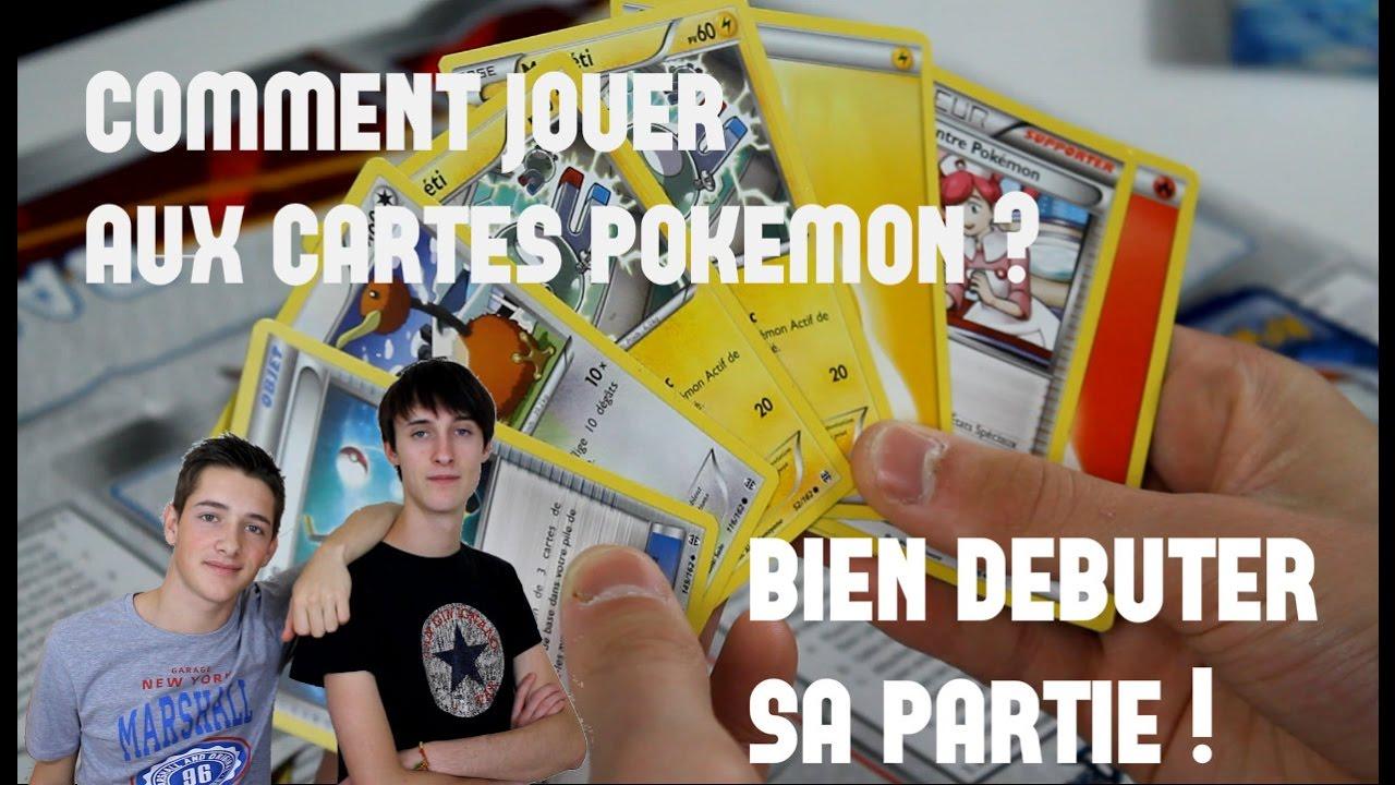 jouer aux cartes pokémon