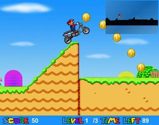 jouer mario moto
