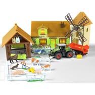 jouet de ferme et tracteur