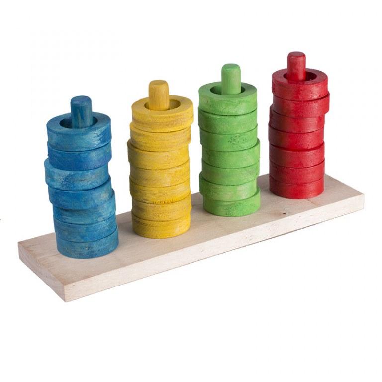jouet educatif perroquet