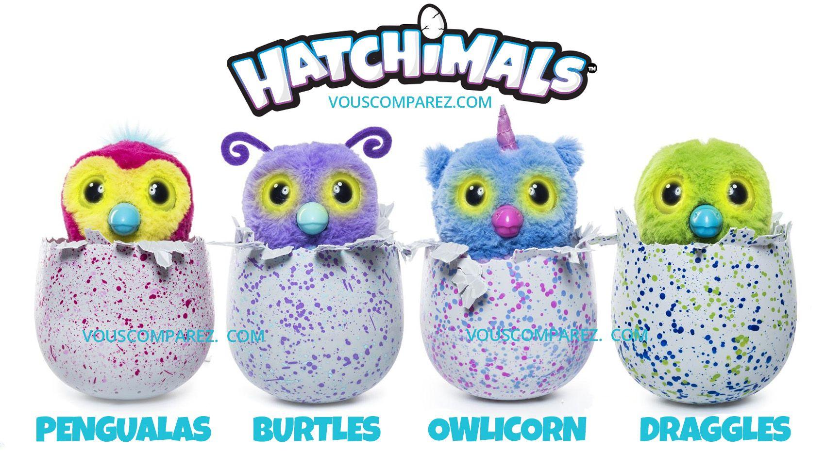 jouet hatchimal