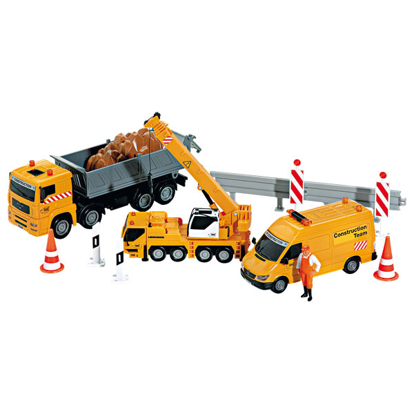 jouet vehicule de chantier