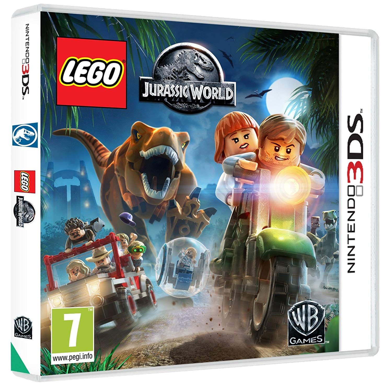 jurassic world le jeu lego