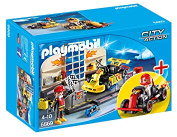 karting playmobil