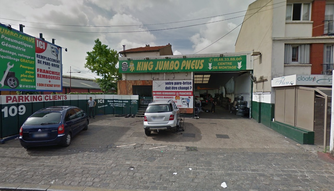 king jumbo pneu