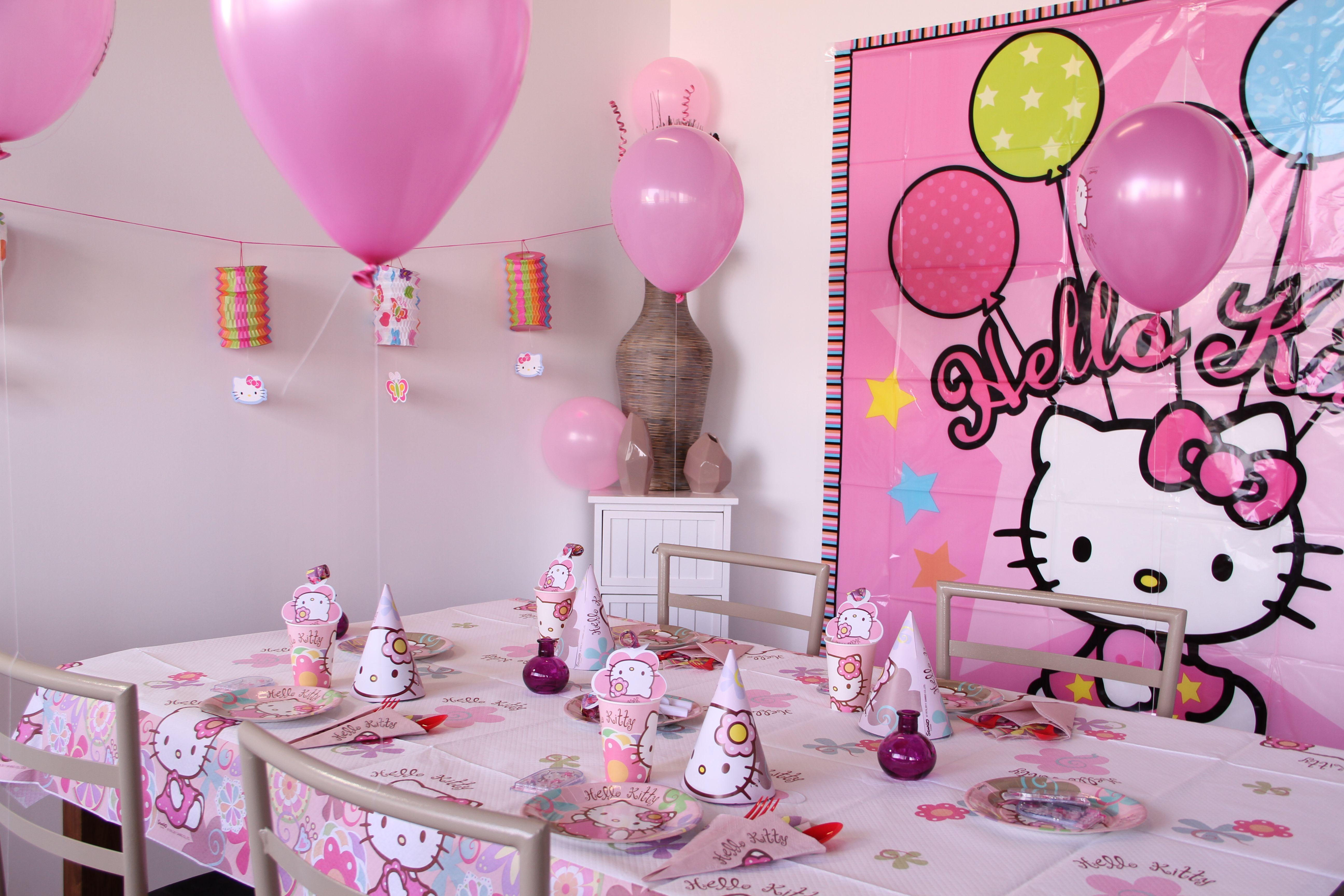 kit anniversaire hello kitty