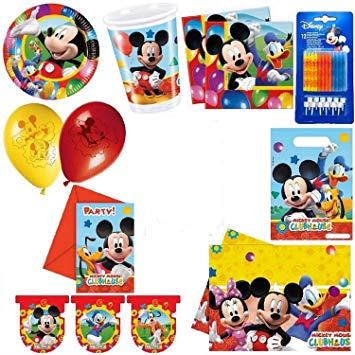 kit anniversaire mickey