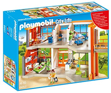 l hôpital playmobil