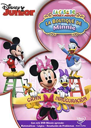 la boutique de minnie dvd