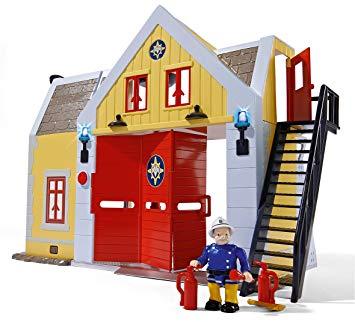 la caserne de sam le pompier