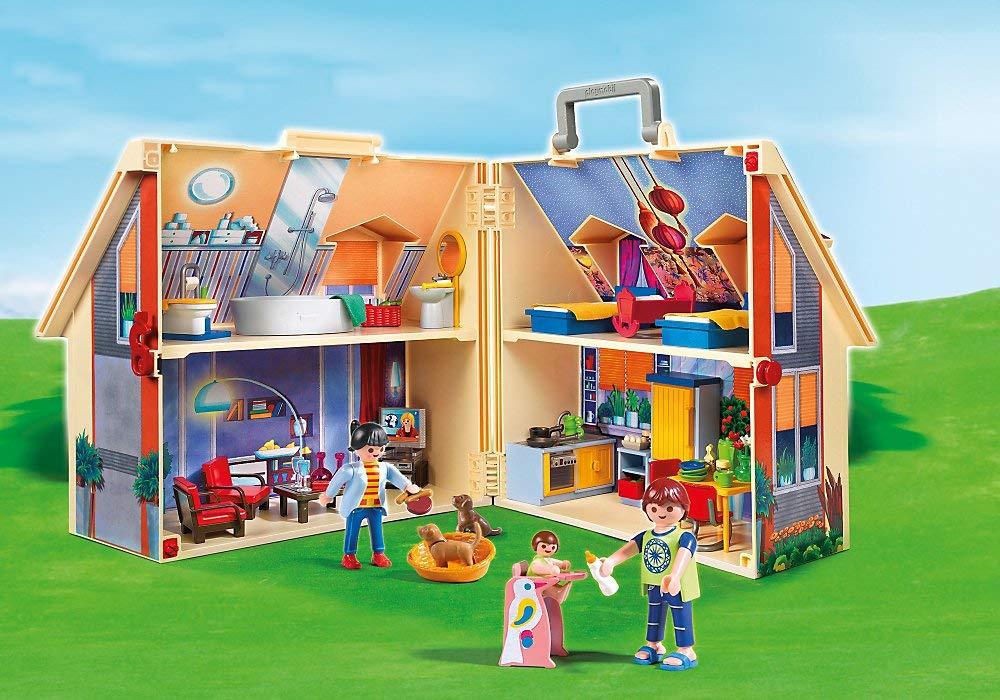 la maison transportable playmobil
