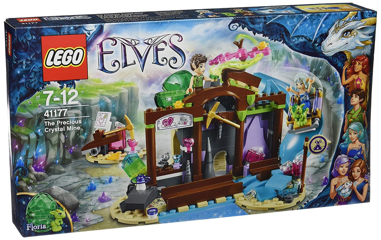 la mine de cristal lego elves