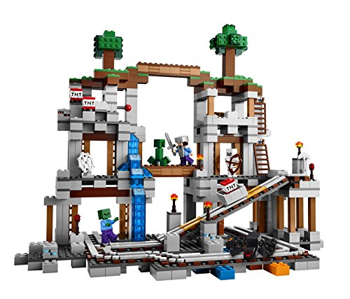 la mine minecraft lego