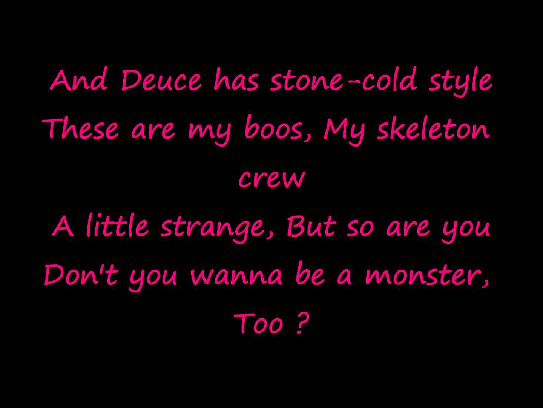 la musique de monster high