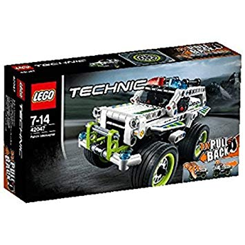 la voiture d intervention de police lego technic