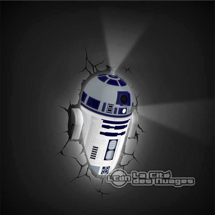 lampe murale star wars