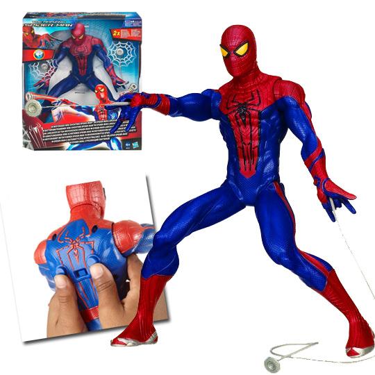 lance fil spiderman