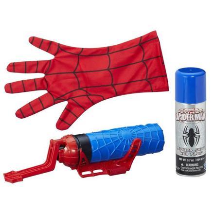lance fluide et eau spiderman