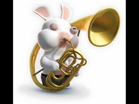 lapin crétin musique