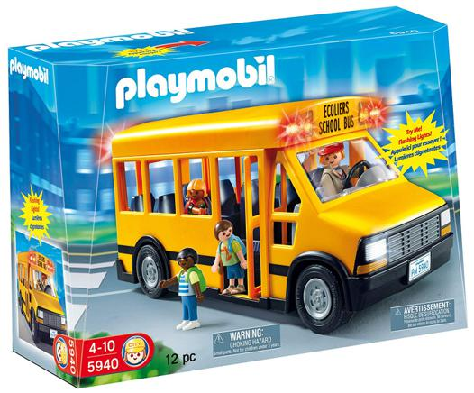 le bus playmobil