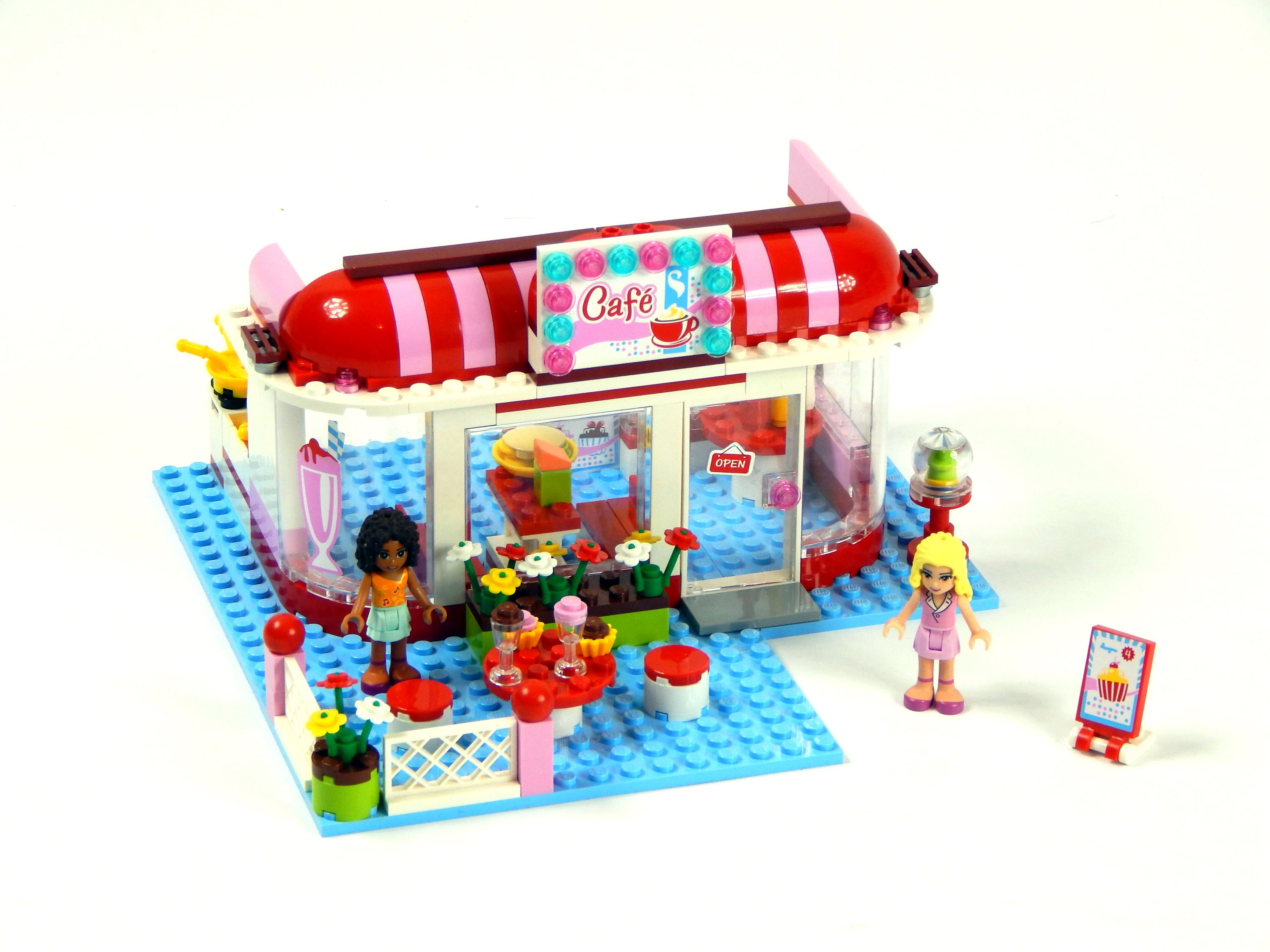 le café lego friends