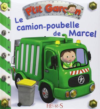 le camion de poubelle