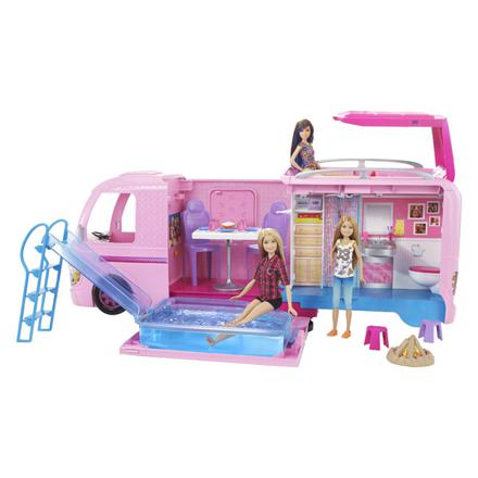 le camping car de barbie