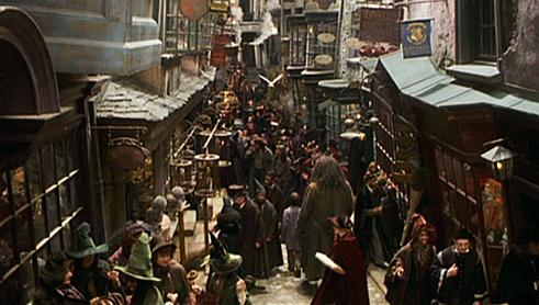 le chemin de traverse harry potter