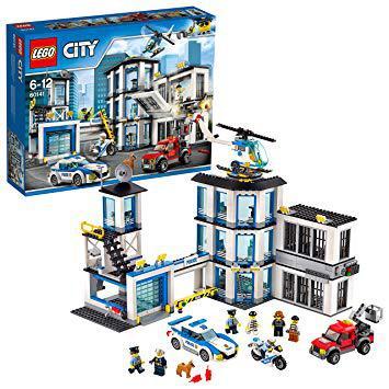 le commissariat de police lego