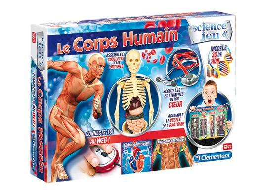le corps humain clementoni