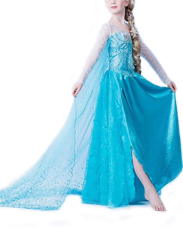 le déguisement de la reine des neiges