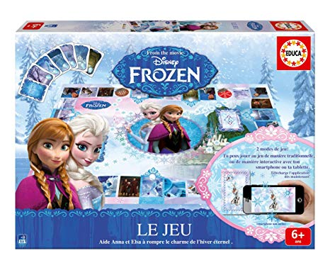 le jeu de reine des neiges