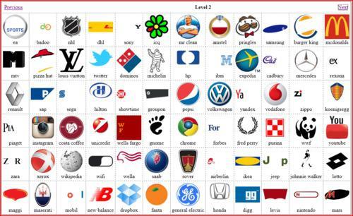 le jeu des logos