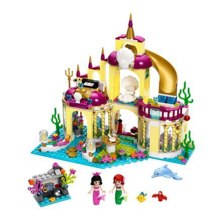 le royaume sous marin d ariel lego
