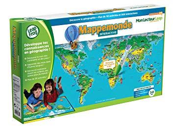 leapfrog mappemonde