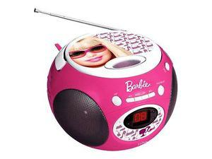 lecteur cd barbie