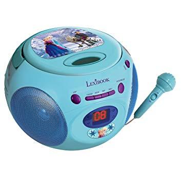lecteur cd enfant avec micro