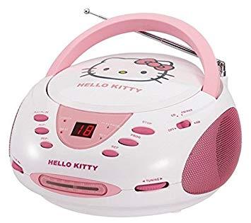 lecteur cd hello kitty