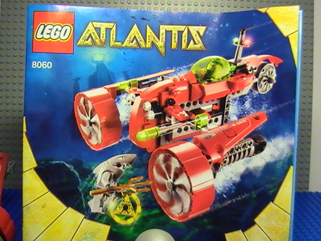 lego atlantis sous marin